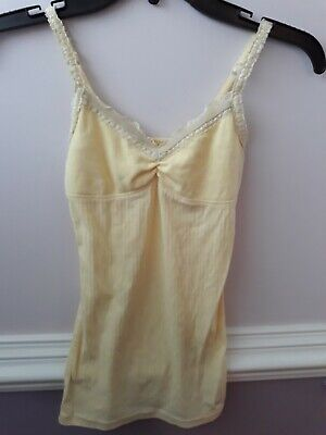 Abercrombie kids L 8-10   tank top  yellow