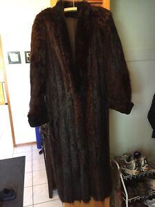 Beautiful Beaver Fur Coat