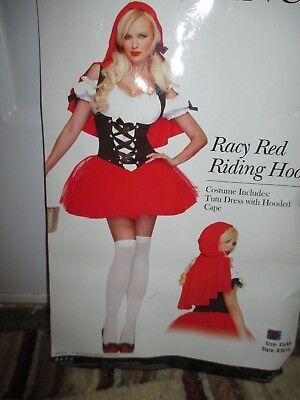 Leg Avenue Juniors Womens Halloween Costume Racy Little Red Riding Hood Sz XS