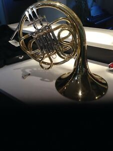 Student French Horn and Carrying Case