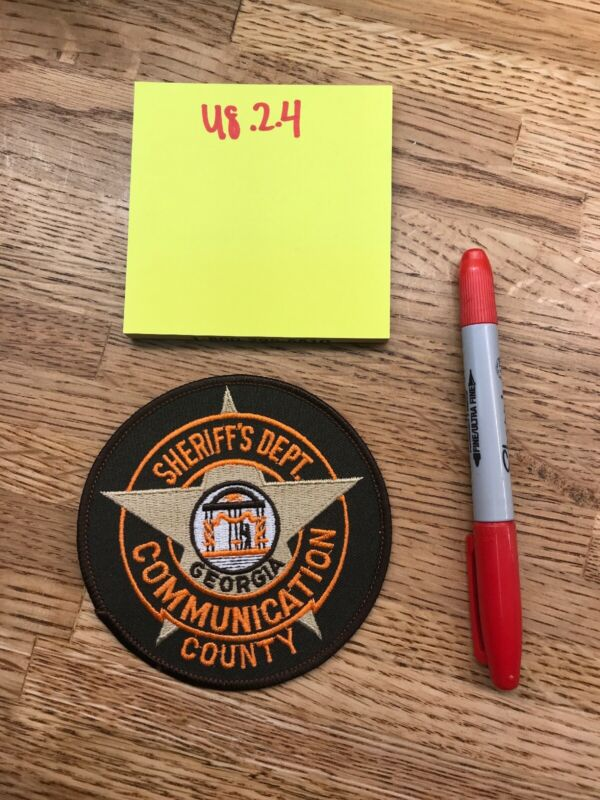 Communication County - GEORGIA - POLICE PATCH