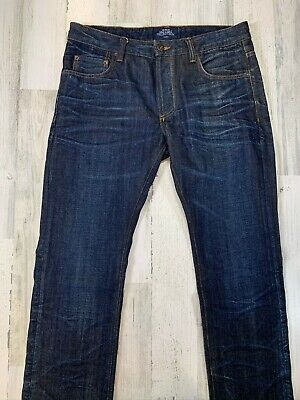 Natural Selection Selvedge Jeans 32x32 Narrow Alpha Japanese Denim