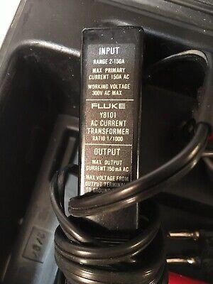 Fluke Y8101a Ac Current Transformer 11000 Ratio 150amp Ac