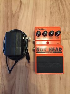"DIGITECH ""Hot Head"" Distortion pedal"