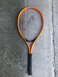 Orange Tennis Racquet