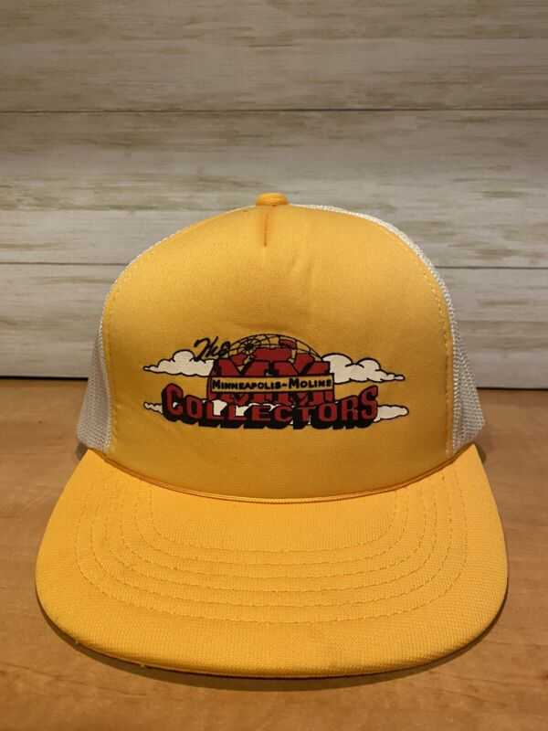 Vintage Minneapolis Moline Collectors Hat