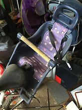 baby bike seat bit of ware an tare but still plenty of use Congewai Cessnock Area Preview