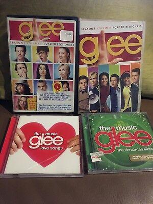 Glee Mega Pack Season 1 Vol. 1 & 2 7 DVDs PLUS 2 CDs Christmas & Love Songs! ()