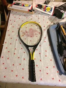 Aero dynamic tennis racket