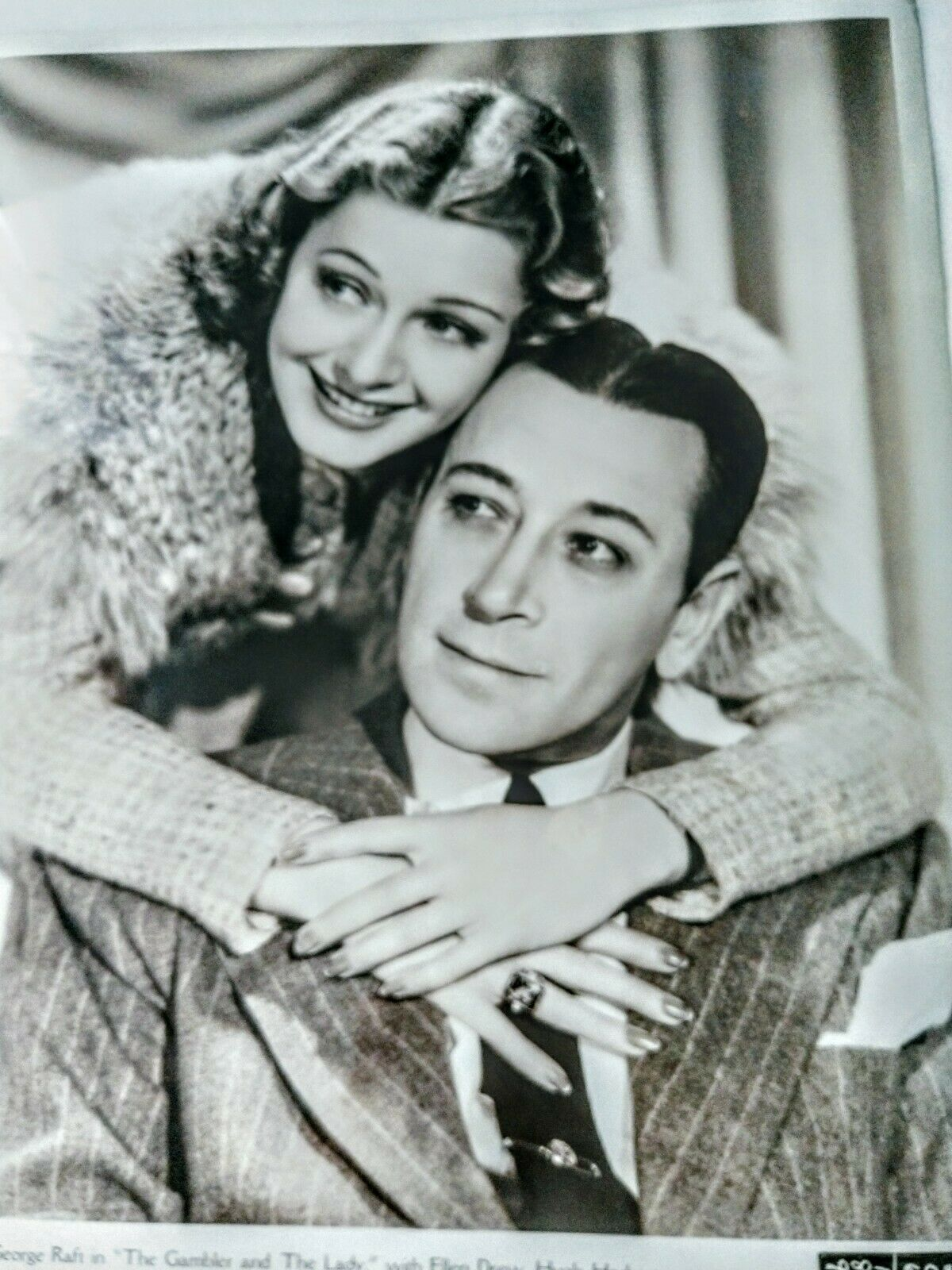 George Raft In The Gambler And The Lady Publicity Photo 1939 - $25.00