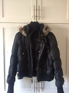 Winter Jacket Black Rivet