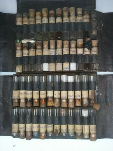 18c Antique Travel Apothecary Kit Medical  Pharmacy Vial Soda perfume UPDATE