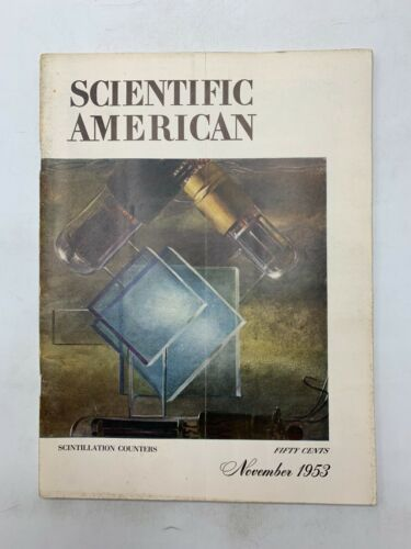 Scientific American Magazine  Scintillation Counters November 1953