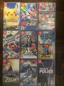 Switch Games Pokémon Super Smash Mario Kart