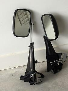 Towing mirrors  door mount Fletcher Newcastle Area Preview