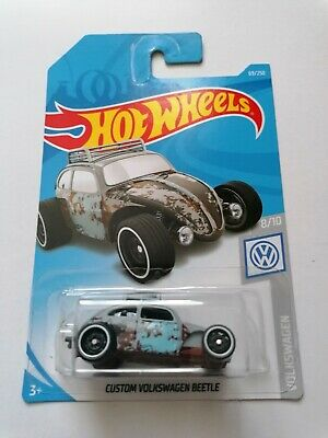 HW HOT WHEELS HW VOLKSWAGEN #8/10 CUSTOM VW BEETLE Grey