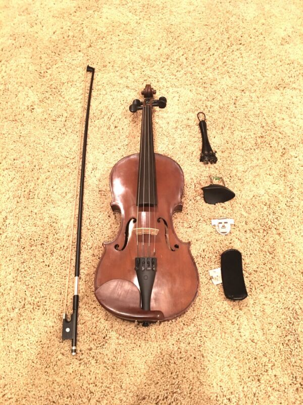 """Antique """"Nicolaus Amati"""" Copy, Made In Germany 4/4 Violin"""