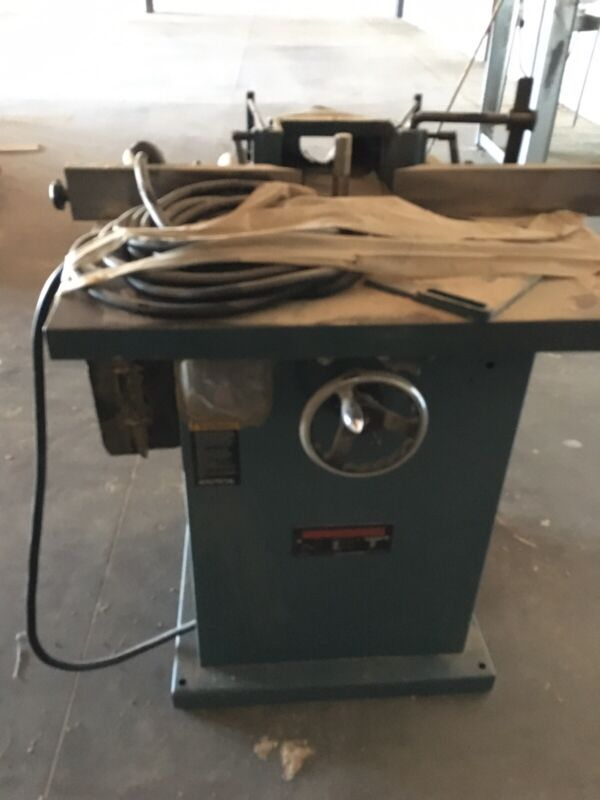 JET Woodworking Shaper Model WSS-3-1