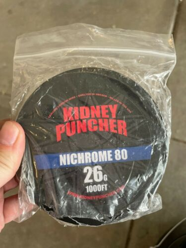Kidney Puncher 1000ft 26 Gauge Nichrome 80