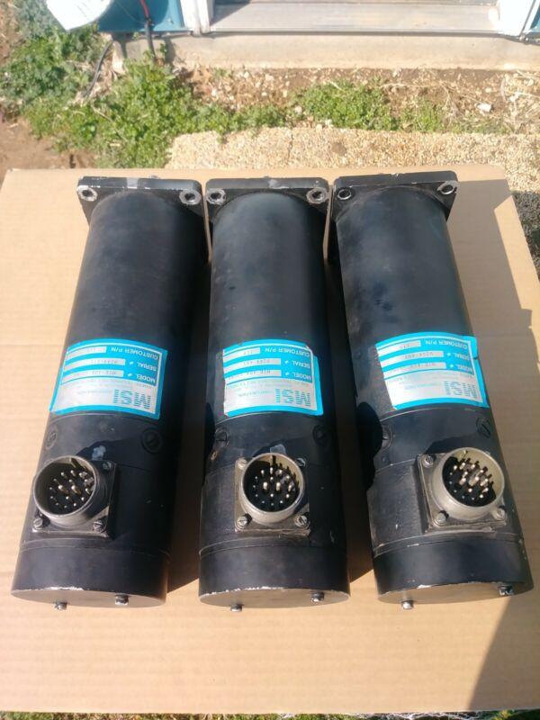 cnc milling machine servo motors