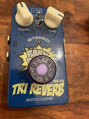 Biyang RV-10 Stereo Tri Reverb Guitar Pedal