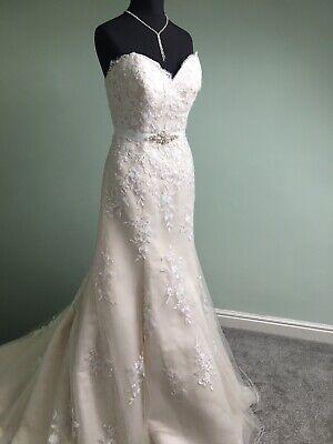 Sincerity By Justin Alexander Wedding Dress Style 3888 - Size 10