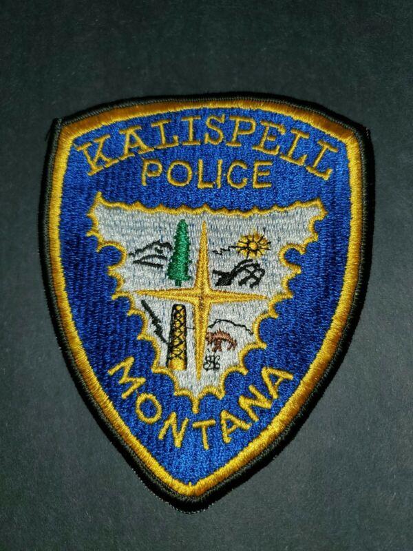 Montana Kalispell Police Patch