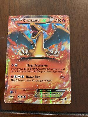 Pokemon Charizard XY17 EX Holo NM/M Normal/Regular Size Promo Card 2014