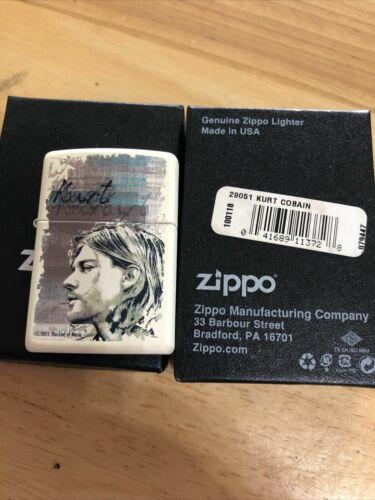 """Retired zippo lighter-""""Kurt Cobain""""-2016"""