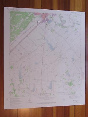 Courtland Kansas 1975 Original Vintage USGS Topo Map