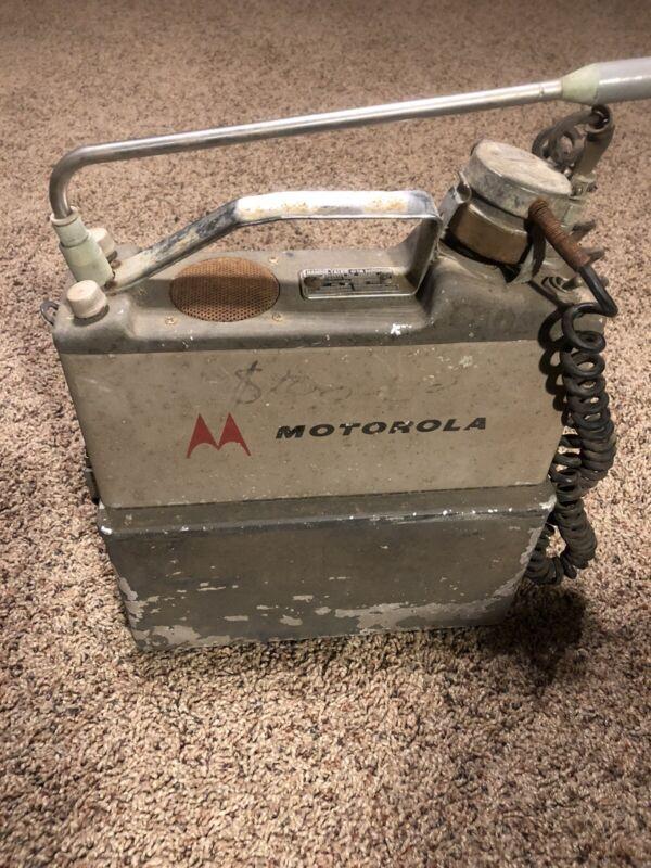 Vintage Motorola Walkie-Talkie Phone