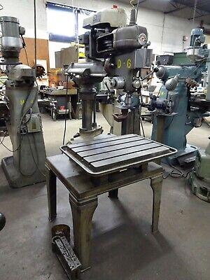 Rockwell Model15-120 Radial Arm Drill Press  26 X 18 T-slot Table