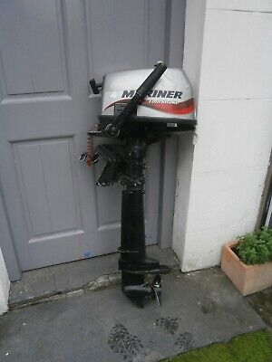 Mariner Four Stroke Outboard Engine - 4 HP Long Shaft / Just Serviced