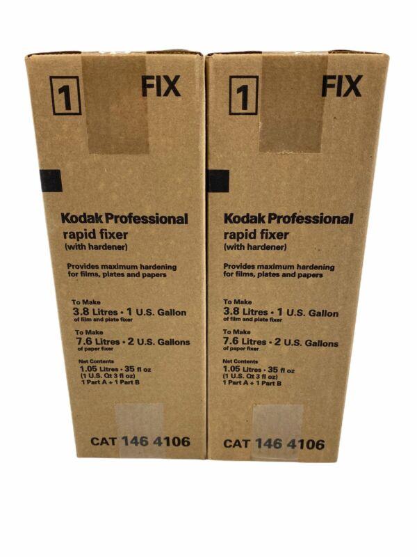 Kodak 1464106 Liquid Rapid Fixer Solution for B/W Film Lot of 2 Free Shipping