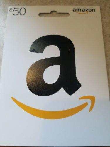 Amazon 50 Gift Card - $48.00