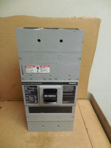 Siemens Circuit Breaker Lmxd62s800a 800a 800 A Amp 600v Volt 2 Pole 2p