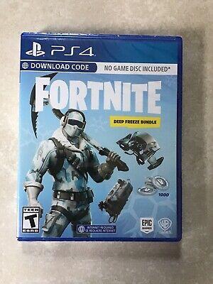 Fortnite Deep Freeze Bundle PS4 Brand New Sealed