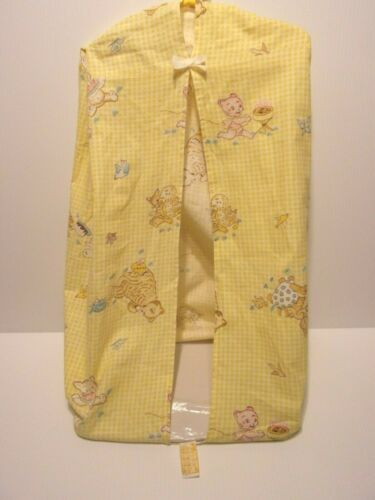 VINTAGE  BABY HANGING DIAPER CLOTH STACKER HOLDER.....DUNDEE