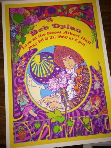 Bob Dylan at Royal Albert Hall  1966 2nd Print Poster