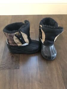 Toddler boys winter boots 5