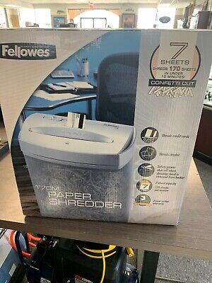 Fellows Powershred T7cm Paper Shredder