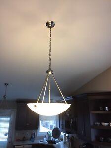 Set of kitchen / dining lights