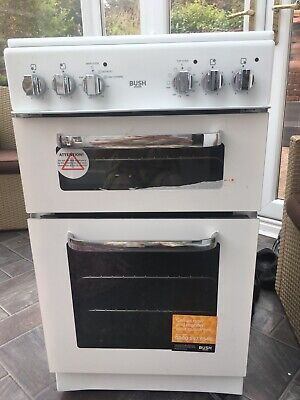 bush white electric freestanding cooker used 50cm