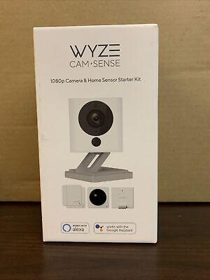 Wyze 1080p Indoor Wireless Surveillance System w/ WyzeCam v2 Camera & Wyze Sense
