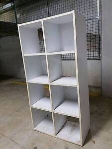 Small bookcase white Hornsby Hornsby Area Preview