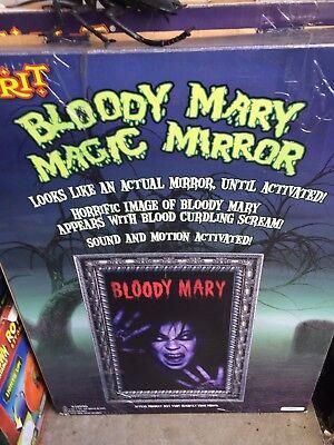 Bloody Mary Animated Mirror Spirit Halloween Very Rare Working  - Work Spirit Halloween