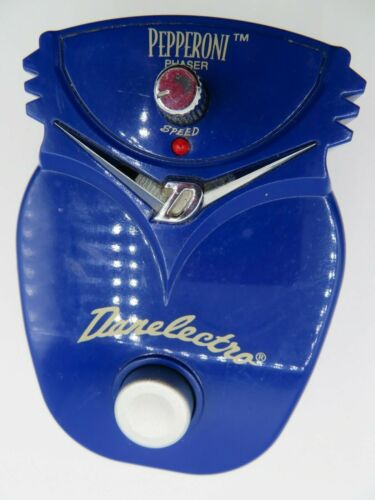 Danelectro Pepperoni Phaser Guitar Effect Pedal