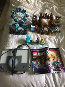 LEGO dimensions starter kit with extras