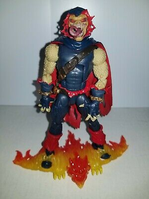 MARVEL LEGENDS NEAR COMPLETE B.A.F. BUILD A FIGURE DEMOGOBLIN FROM SPIDERMAN