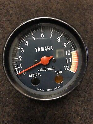 <em>YAMAHA</em> DT175 REV COUNTER TACHOMETER CLOCK